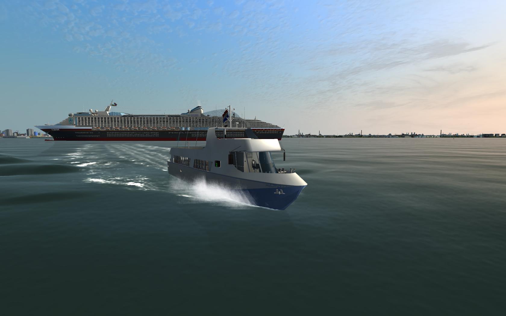 ShipSim  Luxury Cruise Vessel MS Oceana  DLC