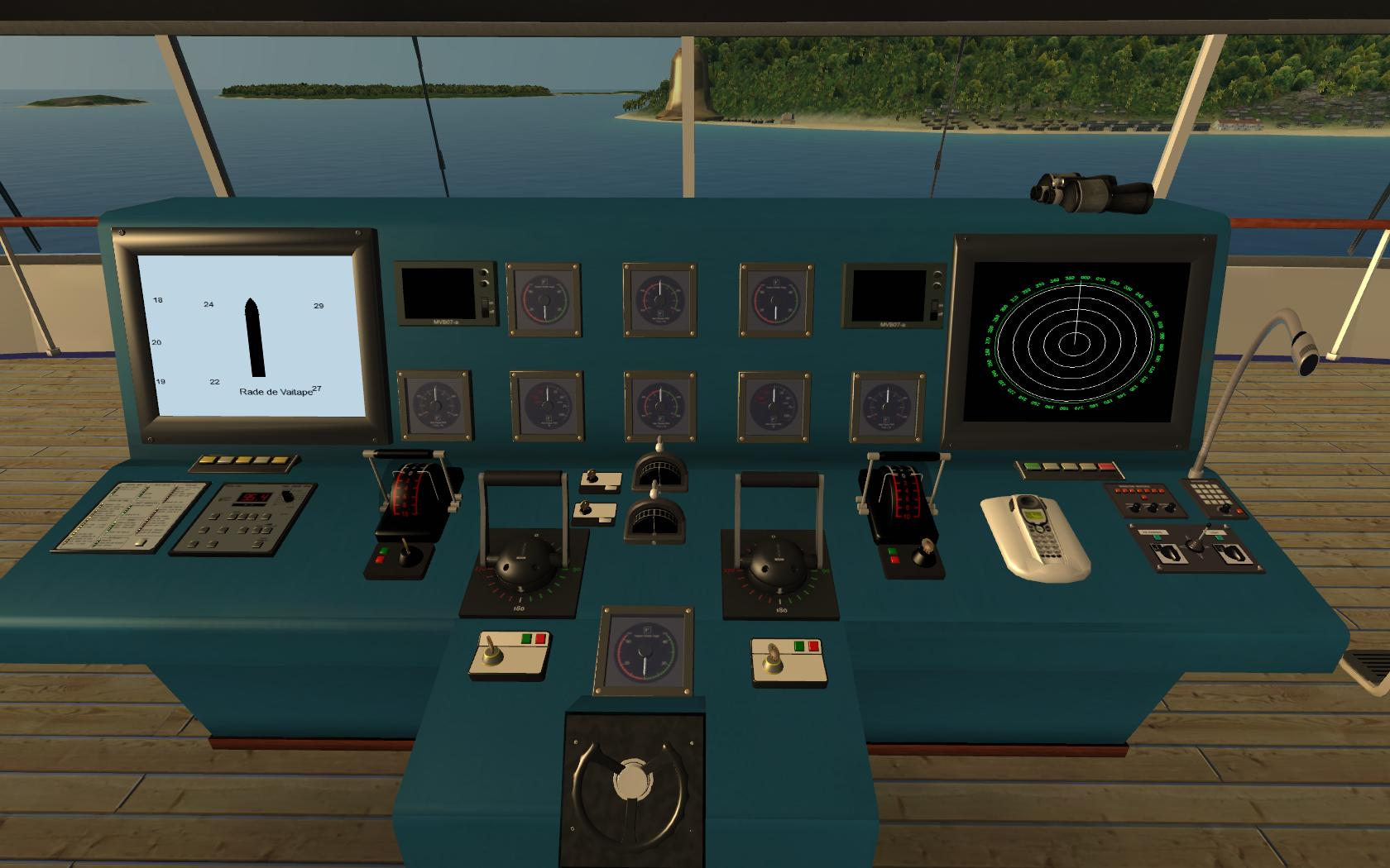 ShipSimcom Luxury Cruise Vessel MS Oceana DLC - Cruise ship controls
